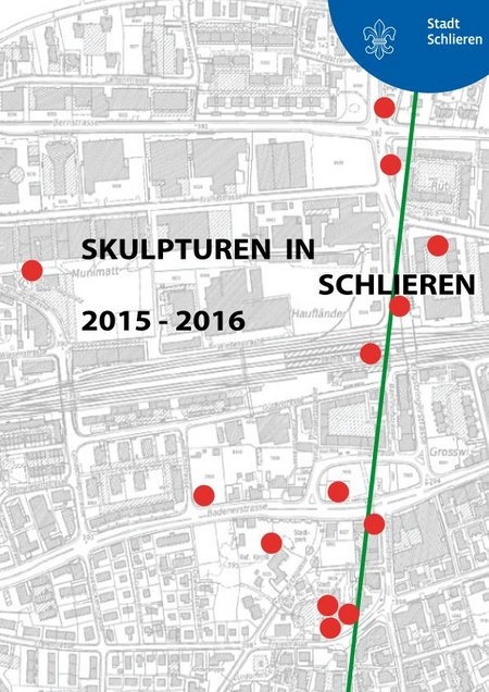 2015 Flyer Skulpturen in Schlieren